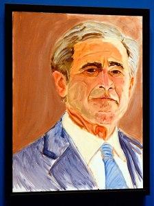 gw-bush-painting-435x580